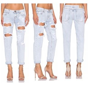 ONE TEASPOON AWESOME BAGGIES BOYFRIEND JEANS