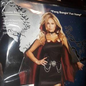Dream girl Vampire Women Halloween Costume 1x/2x