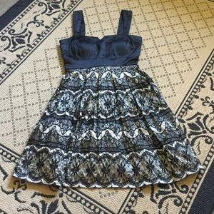 🆕 Pretty Lace & Satin LBD 👠🖤👗🍷👰🏼