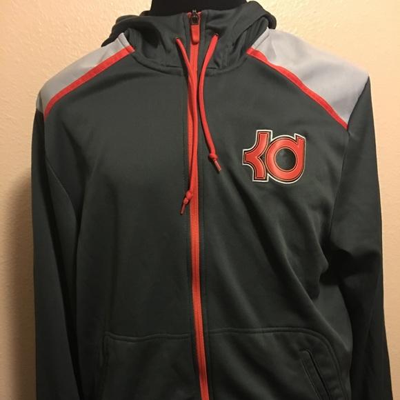2eec073b Nike Therma-Fit Men's L KD Zip Hoodie Gray/Orange.  M_59c7d16a713fde7aa90213e0