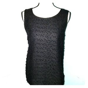 Ann Taylor Sequin and Knot Tank