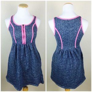 Kensie Pieces Zipper Skater Dress