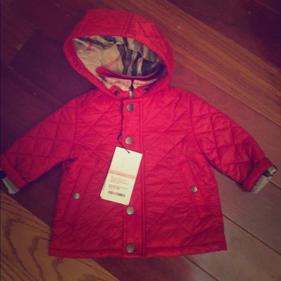 bc74ff9a0729 NWT Burberry Kids Baby Nova Check Jerry Coat