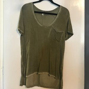 We The Free distressed tshirt size XS