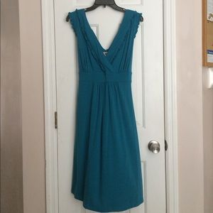 """Faded Glory"" Women Aqua Blue Dress Size 1X (16W)"