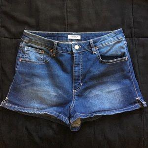 Denim shorts from Forever 21