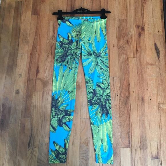 Versace For H M Pants Jumpsuits Versace X Hm Collection Leggings Poshmark