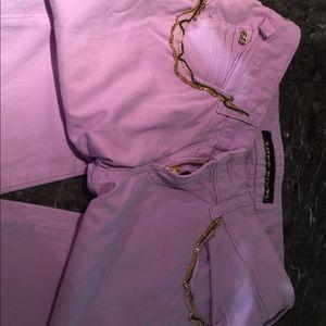 Miss sixty purple capris
