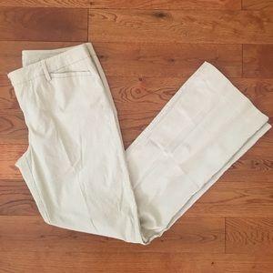 New York & company seersucker pants size 6