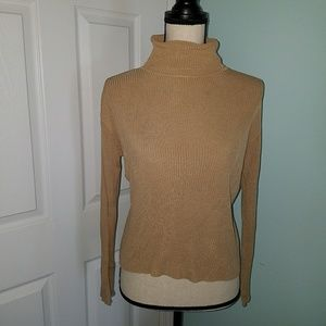 Nwot 100% Silk Ann Taylor Turtle Neck Sweater