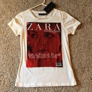 Zara tee
