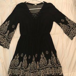 Hippie flare dress