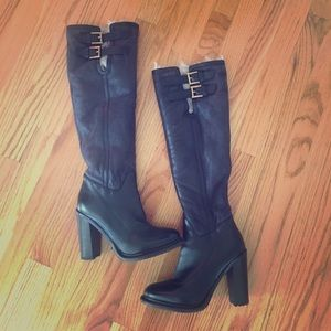Ugh Heeled Knee High Boots