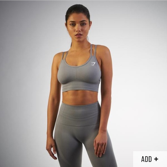 676ca15afc Gymshark seamless crossback sports bra medium