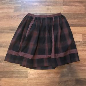 Plaid skirt from Urban Outfitters