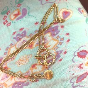 Salty Pretzel necklace