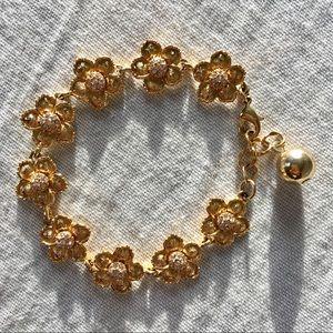 🌼Kate Spade floral bracelet