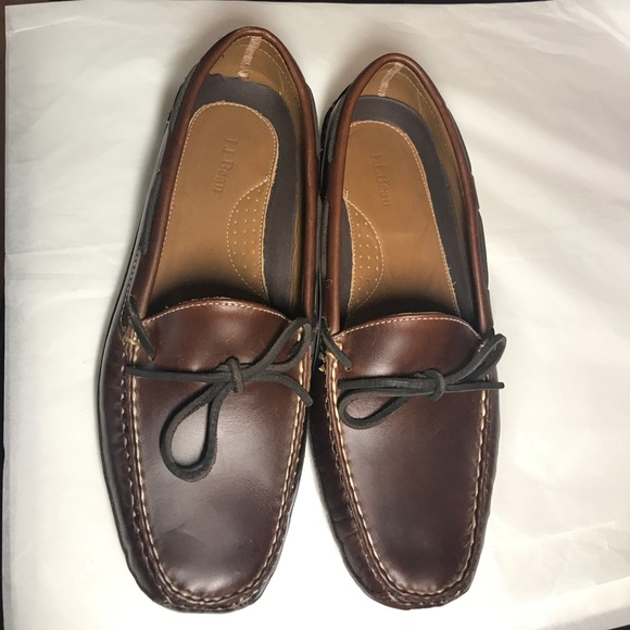 8a4f19278ba54 L.L. Bean Shoes | New Mens Leather Doublesole Slippers | Poshmark
