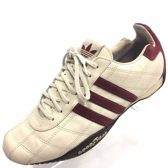 size 40 3b40d 918f6 new zealand adidas shoes womens adidas goodyear tuscany shoes 71979 71089  czech adidas tuscany goodyear beige leather sneaker 9 833e1 c36a2