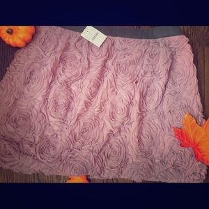J. Crew Purple Rosette Skirt size 10