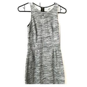 Gray knit sleeveless
