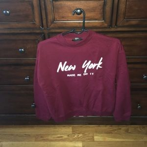 Forever21 Pullover (Maroon)