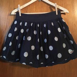 Hollister Polka Dot Mini Skirt
