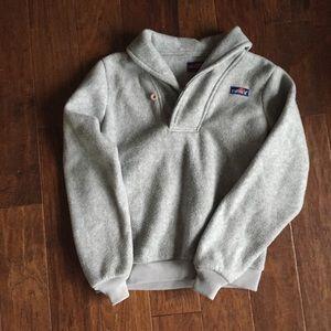 Grey Vintage fleece Pullover size Large
