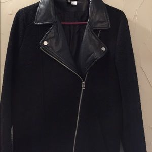 H&M Divided Wool Lined Coat