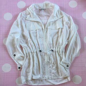 Cabi style no 728 white Fairway jacket Sz L