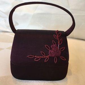 A Valerie Stevens evening purse.