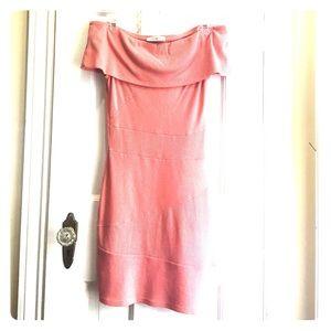 Arden B. Off the shoulder dress (XS)