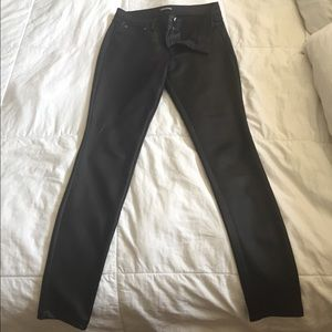 Express stretch leather like pants