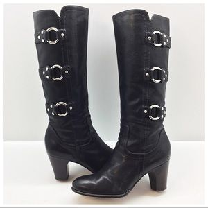 {Frye} Fiona 3 Strap Tall Boot