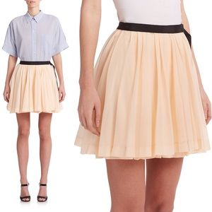Dresses & Skirts - Band of Outsiders Pleated Wrap Side Buckle Mini