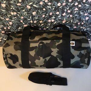 BAPE camp duffle bag