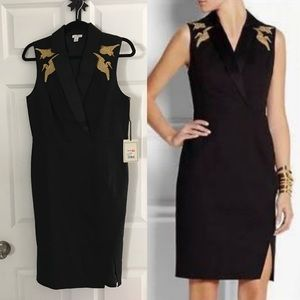 Altuzarra black dress size 10