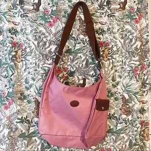 Longchamp Pink Crossbody Bag