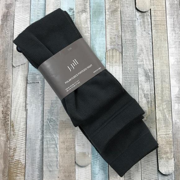 dfb06c7e5e1cf J. Jill Accessories | J Jill Polar Fleece Footless Tights Gray New ...
