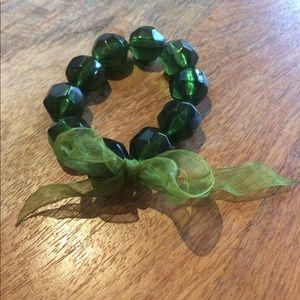 Cute green bracelet!