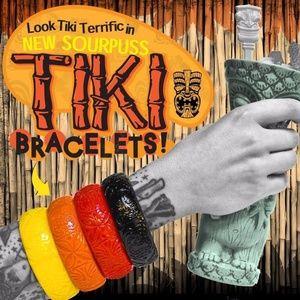 Sourpuss TIKI Bangle Bracelet Your choice of Color