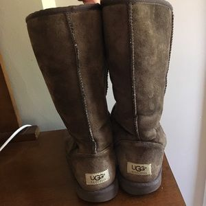 UGGS brown tall boots