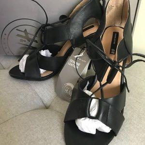 H&M Genuine Leather Black Shoes Sz.6