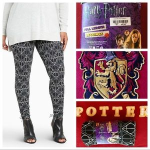 ⚡️Torrid Harry Potter Leggings Sz 00-12/14 NWT!🦉