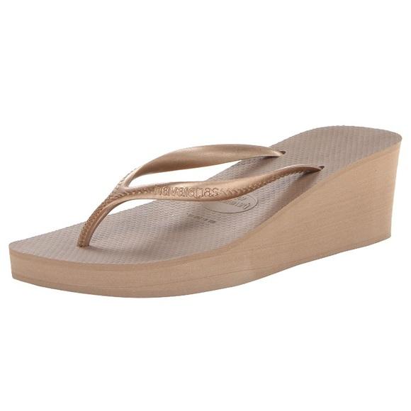 0d5c30e55ba0 Havaianas Shoes - 🖤 New HAVAIANAS Platform Wedge Flip-Flops Size 36