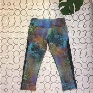 Onzie Rainbow-Marbled Yoga Leggings