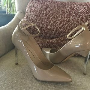 Chinese Laundry ankle strap pumps