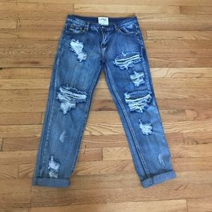 ONE by One teaspoon awesome baggies boyfriend jean