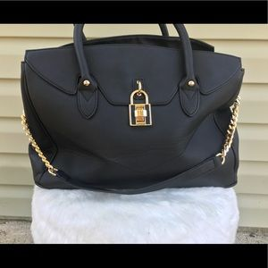 Black JustFab purse