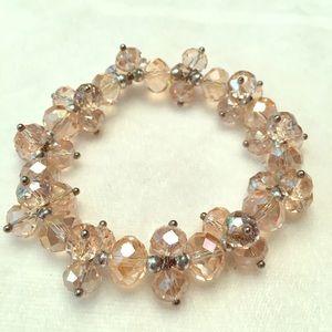 Light pink sparkle bracelet